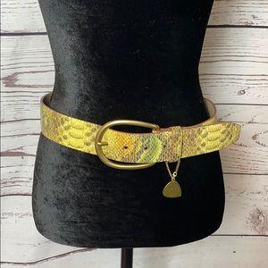Guess Snake Print Belt, S 🐍